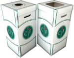 Customize Our Bins With a Name and Logo
